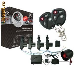 Kit Inchidere Centralizata + Alarma (Mega Drive) foto mare
