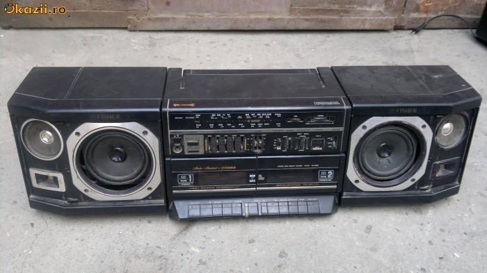 Radio casetofon vechi   FISHER PH-W803RLO foto mare