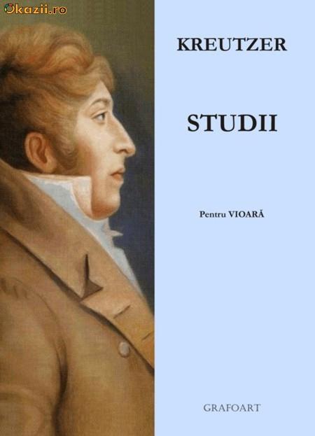 Kreutzer - Studii pentru vioara foto mare