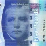 SCOTLAND bancnota 5 Pounds 2007 P-124 BANK OF SCOTLAND UNC