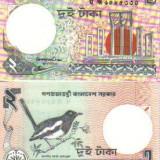 Bnk bn bangladesh 2 taka (1989) unc, Asia