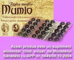 Mumio - Rasina Muntilor - cutie - 30 cps cel. mai mic pret foto