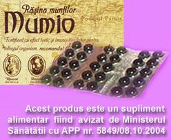 Mumio - Rasina Muntilor - cutie - 30 cps cel. mai mic pret foto mare