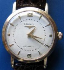 Ceas Barbatesc Longines, Mecanic-Automatic, Analog, 1940 - 1969 - * Ceas LONGINES 1952 automatic - gold filled 80 microni