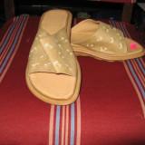 Papuci dama 1, Marime: 38, Bej
