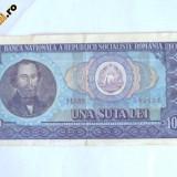 Bancnota Romania 100 lei - 1966