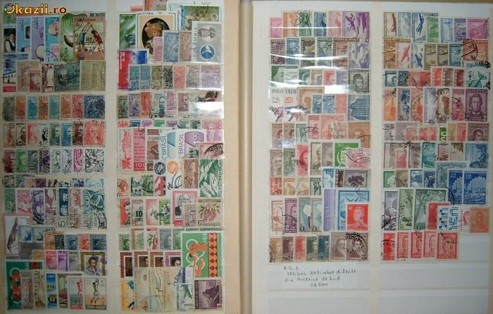 283 buc. de timbre diferite America de Sud 2 foto mare