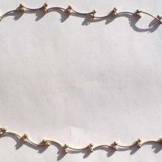 Colier aurit, model deosebit, 44CM