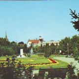 S 2647 Reghin Parcul orasului si oficiul PTTR Necirculata