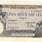 * Bancnota 100000 lei 1946 - decembrie