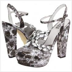 100% AUTENTIC - Pantofi cu Platforma NOT TOO COY Casanova - Pantofi cu Toc - Pantofi Dama, Femei - Pantofi Originali NOT TOO COY - Pantof dama Guess, Marime: 37, 38