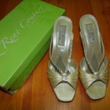 Sandalute elegante Liz Rene - Sandale dama, Marime: 38, Culoare: Alb, Marime: 36.5, Alb