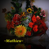 Geanta Dama, Geanta servieta, Crem, Microfibra - ~Mathieu~ Floral Bag