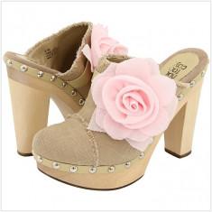 Saboti dama Guess - 100% AUTENTIC - Saboti NOT TOO COY Melody - Pantofi Dama, Femei - Saboti Originali NOT TOO COY