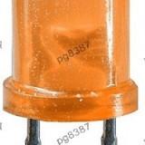 LED 3 mm rotund, portocaliu, 20 mA-140303 - Bec / LED