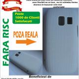 Husa Nokia Asha 302 Alba Case material dur MESH