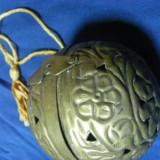 SFERA ANTICA PERFECT FUNCTIONALA, ARGINTATA, INTARSII PROFUNDE - Arheologie