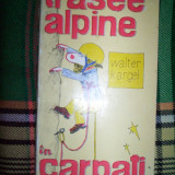 Carte Geografie - Trasee alpine in Carpati-Walter Kargel