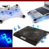 SUPORT Extern DE RACIRE laptop, estetic si usor de folosit , Notebook Cooling Pad cu 1 sau 3 ventilatoare , diverse modele