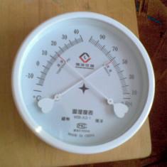 Termometru si higrometru analogic-0911 - Aparat monitorizare