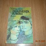 DIMINEATA IUBIRII - GEORGE SOVU - Carte educativa