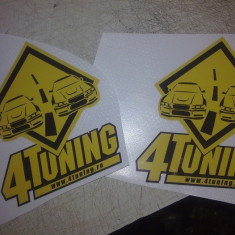 Stickere tuning - Sticker autocolant 4 tuning original