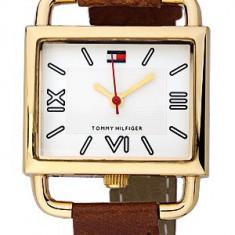 Tommy Hilfiger 1780128 ceas dama nou, 100% veritabil. Garantie.In stoc - Livrare rapida., Elegant, Quartz, Inox, Piele, Rezistent la apa