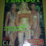 Revista barbati - PLAYBOY NOIEMBRIE 2001 .