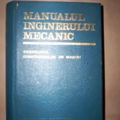 Carti Mecanica - Manualul inginerului mecanic(tehnologia constructiilor de masini)-A.Nanu