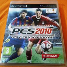 Joc Pro Evolution Soccer 2010, PES 2010, PS3, original, alte sute de jocuri! - Jocuri PS3 Altele, Sporturi, 3+, Multiplayer