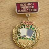 BICS1 - STRAINA - COMUNISTA - INSCRIPTIE IN LIMBA RUSA - Insigna