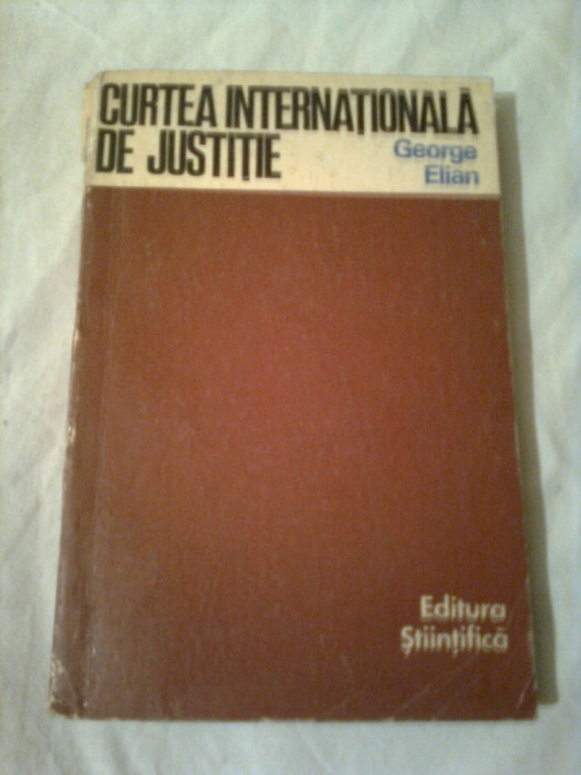 CURTEA INTERNATIONALA DE JUSTITIE  ~ GEORGE ELIAN foto mare