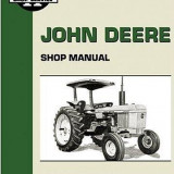 CARTE/MANUAL TRACTOR JOHN DEERE - Manual auto, Carte tehnica