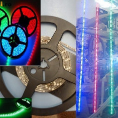 Bec / LED - Banda leduri flexibila rezistenta la apa de interior sau exterior
