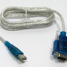 Adaptor interfata PC - Cablu USB la RS232 interfata seriala (DB9)