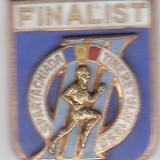 Insigna - Spartachiada Tineretului 1958 FINALIST