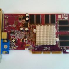 PLACA VIDEO-GEFORCE MX 440 - Placa video PC Palit, AGP, nVidia