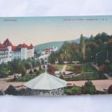 CP-CALIMANESTI PARCUL CU HOTELU JANTEA NR.1 SI 2 - Carti Postale Romania dupa 1918, Necirculata