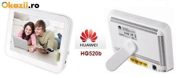 Router wireless romtelecom Adsl Huawei Hg520b foto mare