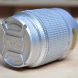 Boxe - Difuzor Mp3 player copie obiectiv Nikon 55-200mm argintiu