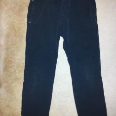 Pantaloni negri de trening bumbac, fete 7-8 ani, ca noi, Culoare: Negru, Negru