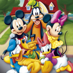 MICKEY MOUSE AND FRIENDS - MINI POSTER (40x50cm)