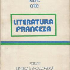 Dictionar istoric critic - Literatura franceza