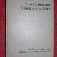 Masini electrice - Aurel Campeanu - Carti Energetica