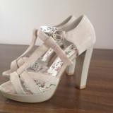 Sandale cu platforma NEXT - Sandale dama Next, Marime: 38, Bej