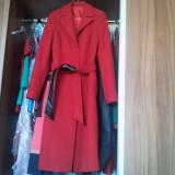 Palton dama, nou, rosu, marimea 40, Marime: 40