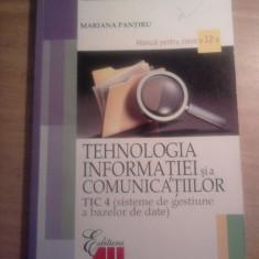 Manual TIC a XII-a - Manual scolar all, Clasa 12, All