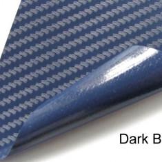 Folii Auto tuning - Folie carbon 3d de culoare albastra