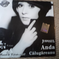 Anda calugareanu cd disc muzica de colectie jurnalul national pop usoara anii 70 - Muzica Pop