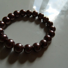 Bratara de perlute, sidef, pe elastic, marimea universala, imitatie perle, REDUSA ACUM! - Bratara perle